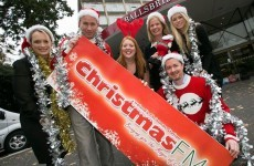 Christmas FM is back on the airwaves at 8am tomorrow morning