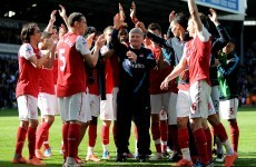 Former Arsenal assistant Pat Rice admitted to hospital with cancer