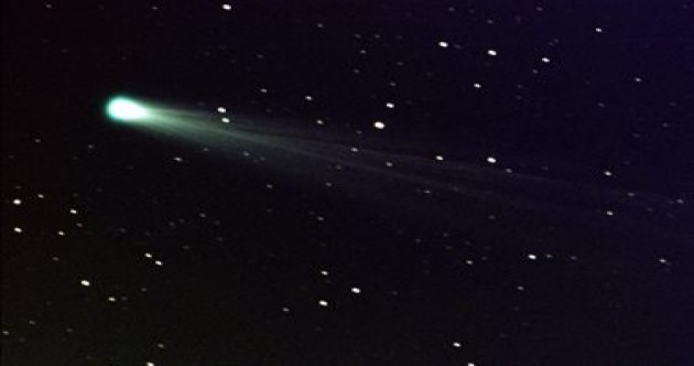 Sun-grazing comet likely to have broken up