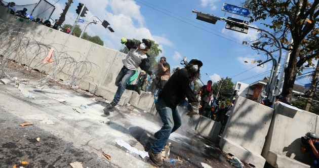 Four killed, dozens injured as anti-government protests continue in Bangkok