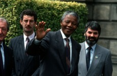 'We are in struggle because we value life and love all humanity': Mandela's address to the Dáil