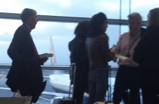 Michael O'Leary takes customer service to a new level by checking boarding passes himself