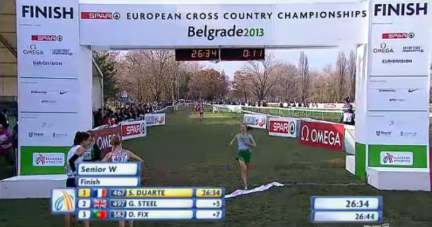 Fionnuala Britton finishes fourth at European Cross Country Championships
