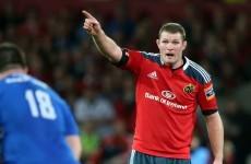 Munster sign Donnacha Ryan up for three more years