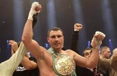 Vitali Klitschko relinquishes WBC world title