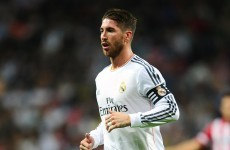Scratch that: It's just the 17 red cards now for Sergio Ramos