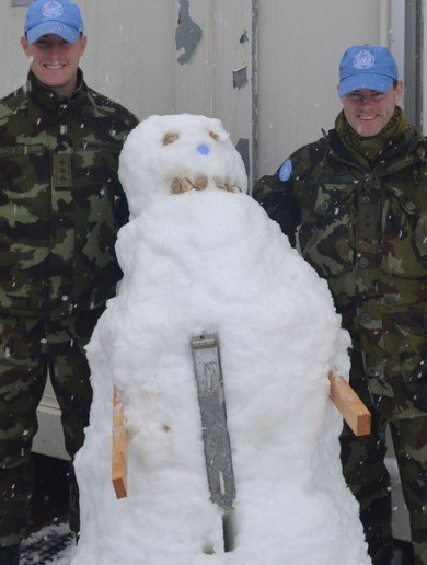 Don't forget about them: Defence Forces abroad send Xmas wishes