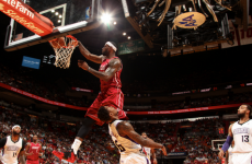 LeBron James jumped OVER 6ft 5in Ben McLemore for this slam dunk last night