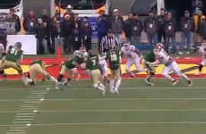 VIDEO: Brilliant 'Statue of Liberty' play from last night's college football