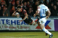 Video: Toby Faletau scores for the Dragons after smart line-out move