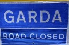 Overturned truck blocks Limerick road