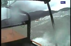 Video: Lifeboat launches search in rough seas – but it was a hoax call