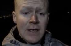 'Paschal Sheehy' reports hilariously from flooded Cork