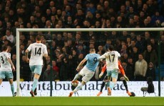 Manchester City have one foot in Capital One Cup final thanks to Negredo treble
