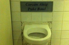 Useful, or terrible stereotype? This Irish pub has a 'puke bowl'