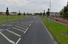 Two men arrested after car chased and rammed on the M50