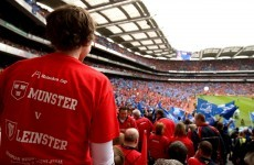 'Play Munster v Leinster semi final at Croke Park… if they both get there'