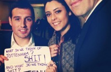 Santi Cazorla apologies after being pictured with sign slagging off Spurs