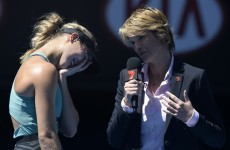 Moments after the biggest win of her career, Eugenie Bouchard was asked about her dream date