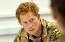 Prince Harry drank champagne out of a prosthetic leg… it's the Dredge