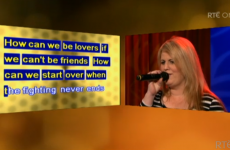 Last night's Late Late Show featured a Michael Bolton karaoke contest