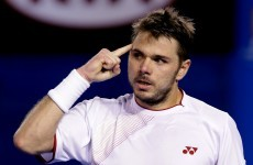 'Not the way I want to win, but in a Grand Slam you take it' — Wawrinka