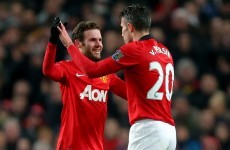 Ashley Young is loving Mata's instant impact