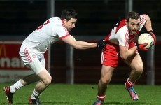 Derry fight back to earn draw with Tyrone