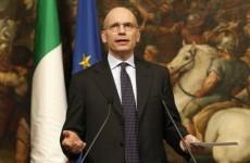 Italian Prime Minister hands in his resignation