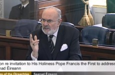 RSVP: Senators want to invite Pope Francis to Ireland