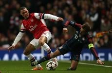 As it happened: Arsenal v Bayern Munich, Champions League