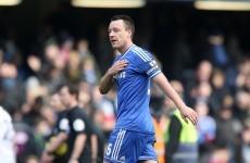 Last-gasp Terry stretches Chelsea's Premier League lead