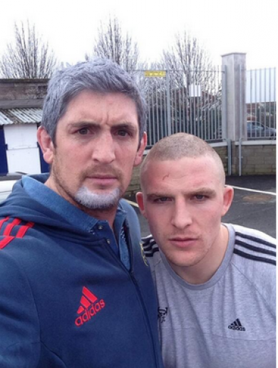 When Munster's James Downey met Love/Hate's Nidge… It's the sporting tweets of the week