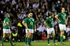 'What's the point in biting each other's heads off?' – Ireland's Jordi Murphy