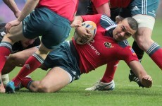 VIDEO: Simon Zebo scores counter-attacking try from inside Munster's half