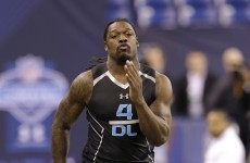 Jadeveon Clowney and 'Johnny Football' are living up to the hype at the NFL combine