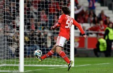 VIDEO: Benfica wonderkid Lazar Markovic scores a beautifully-timed lob