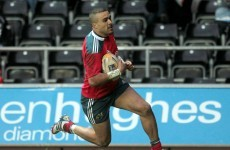 Simon Zebo included in 33-man Ireland squad, no room for Tommy Bowe