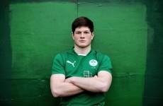 Ireland U20 international Jack O'Donoghue focused on constant improvement