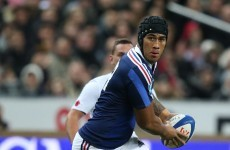 Seven changes for France as Saint-André makes controversial calls