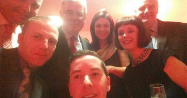 Tánaiste in Oscar-Style Selfie Pic of the Day