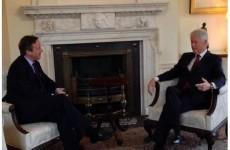 David Cameron responds to Patrick Stewart's Twitter slag
