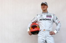Schumacher showing 'small, encouraging signs' of improvement