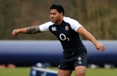 Tuilagi on the bench as England name unchanged team