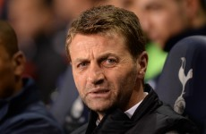 Benfica boss 'lacked class', fumes Tim Sherwood after Spurs defeat