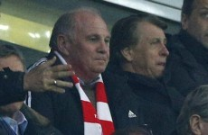 Uli Hoeness says he won't appeal tax fraud verdict, will go to jail