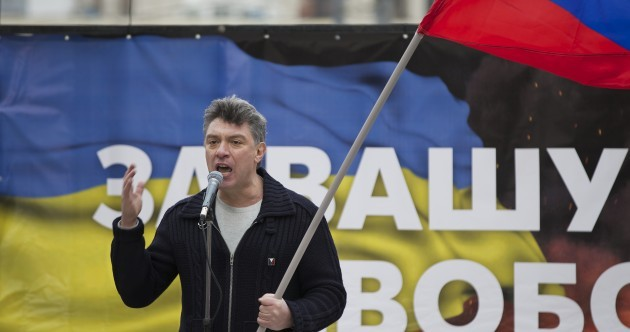 """Putin, get out of Ukraine"": 50,000 turn out for anti-intervention rally… in Moscow"