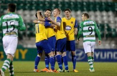 Towell's double from the spot hands Dundalk narrow advantage over Hoops