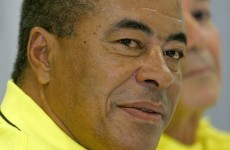 """'There are a lack of stars in Brazilian football,"""" says legendary winger Jairzinho"""