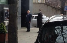 Even Michael D Higgins has to queue for the ATM